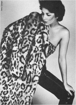 Leopard Coat by Janice Bell